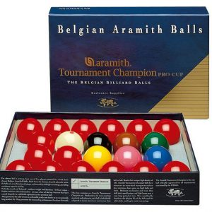 2 1/16 Tournament Champion Snooker Balls