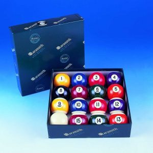 2 1/4 Aramith Engraved Pool Balls