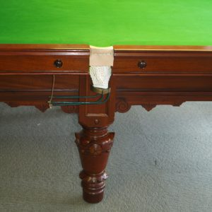 9ft Reconditioned Snooker Table - leg
