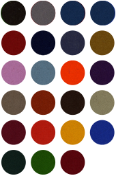 Cloth for 8 Ball English pool smart pool colours