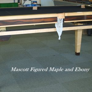 Mascott Ebony & Maple Dining Table